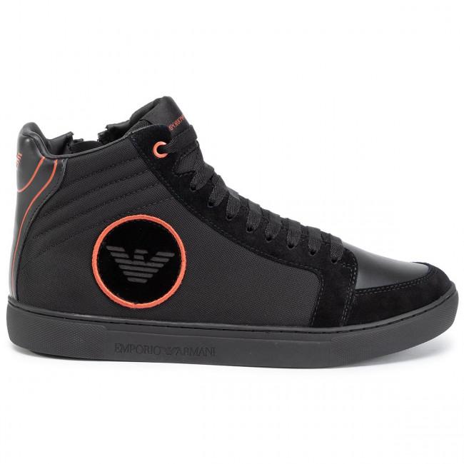 Basse Xm036 Uomo B059 black Sneakers black Black Emporio Armani X4z081 ginger Scarpe yf7I6gvYbm