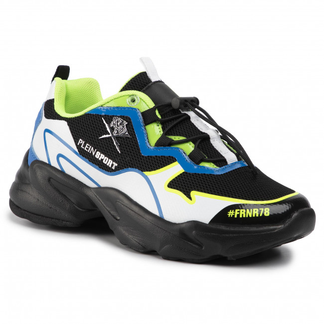 Sneakers PLEIN SPORT - Runner Logos A19S MSC2423 STE003N Green 05
