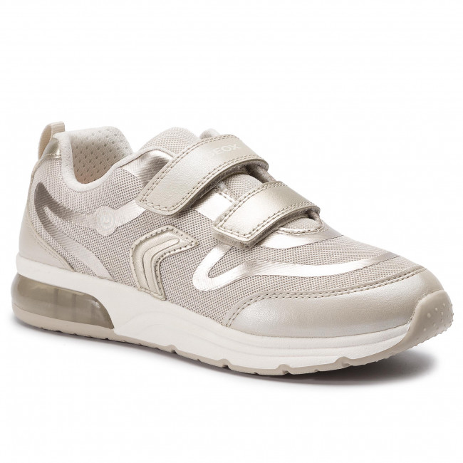 Sneakers GEOX J Spaceclub G.C J928VC 014AJ C5379 D BeigeLt Gold