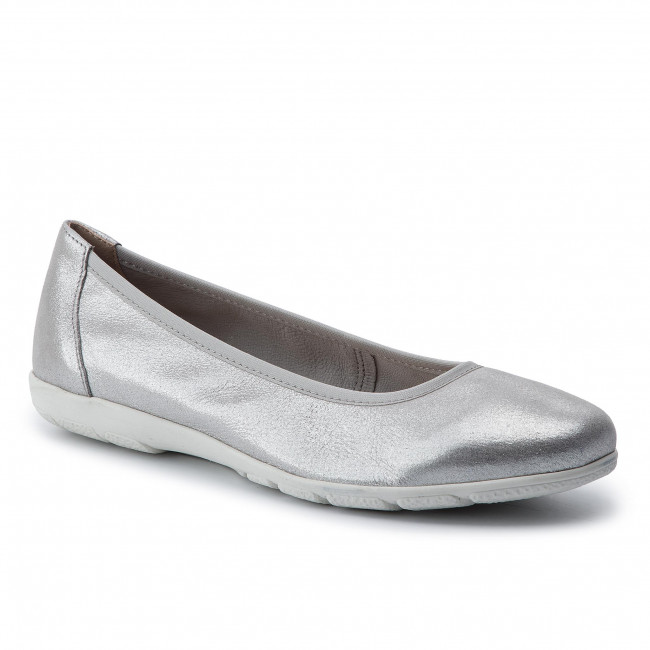 cfdfb3f094 Ballerine CAPRICE - 9-22150-22 Silver Sue.Met 924
