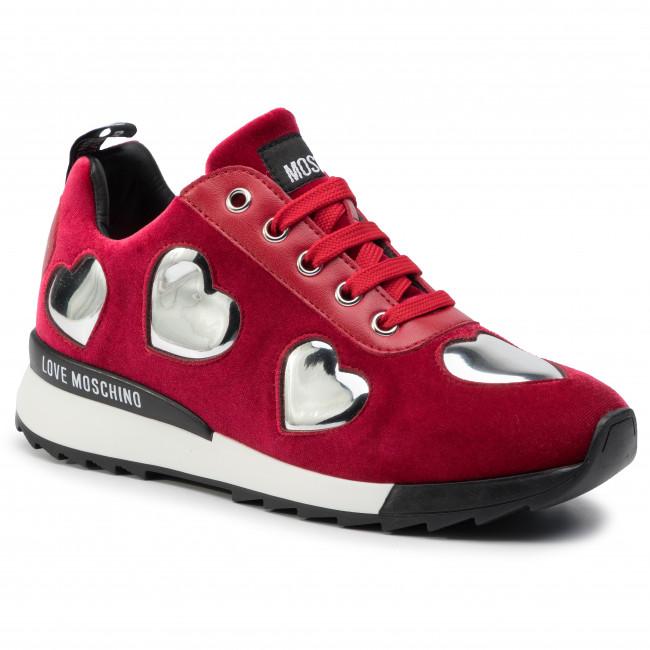 ccb13b9cb8 Sneakers LOVE MOSCHINO - JA15732G08JL0500 Rosso - Sneakers - Scarpe ...