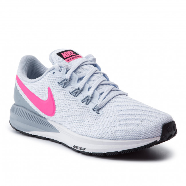 Scarpe NIKE Air Zoom Structure 22 AA1640 402 Half BlueHyper Pink
