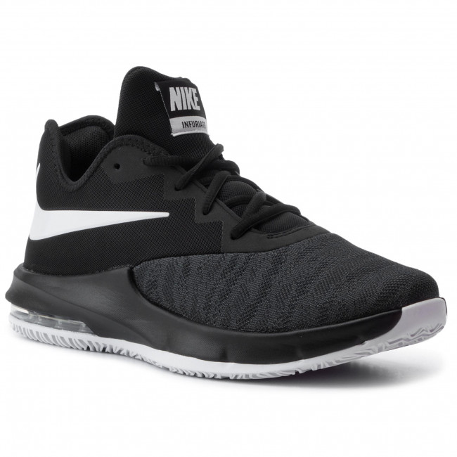 Scarpe NIKE Air Max Infuriate III Low AJ5898 001 BlackWhiteDark Grey