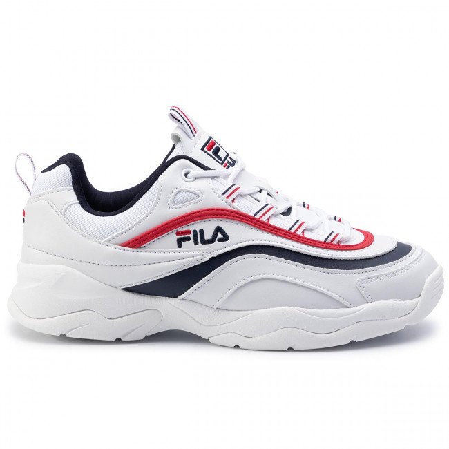 Sneakers FILA Ray Low 1010561.150 WhiteFila NavyFila Red