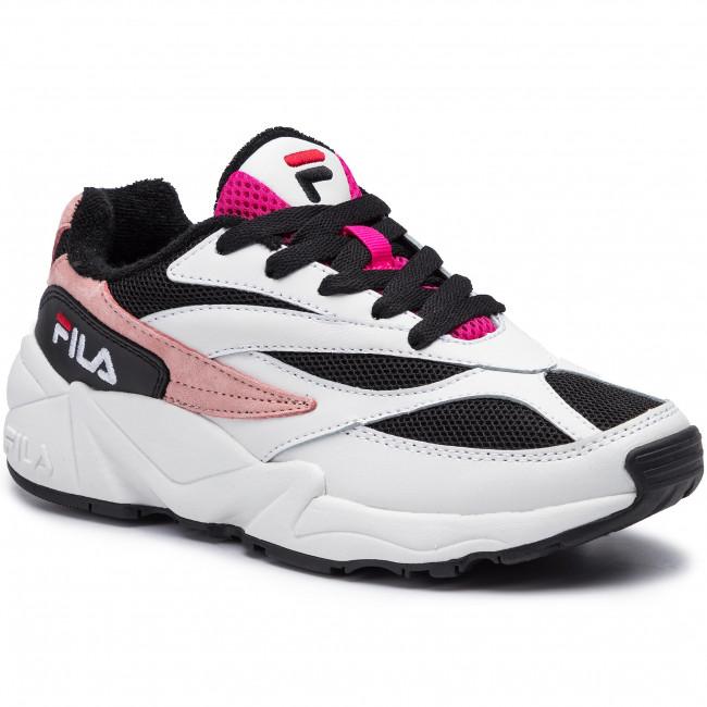 Sneakers FILA - V94M Low Wmn 1010600.91P White/Black/Quartz Pink