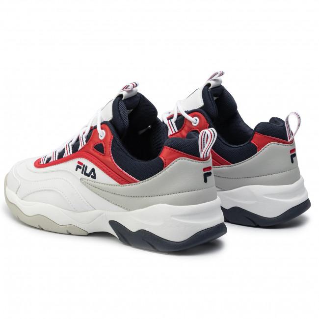 Basse Fila Uomo Sneakers White 1010723 150 Scarpe Red Cb Ray Navy Low fila fila q5L3R4Aj