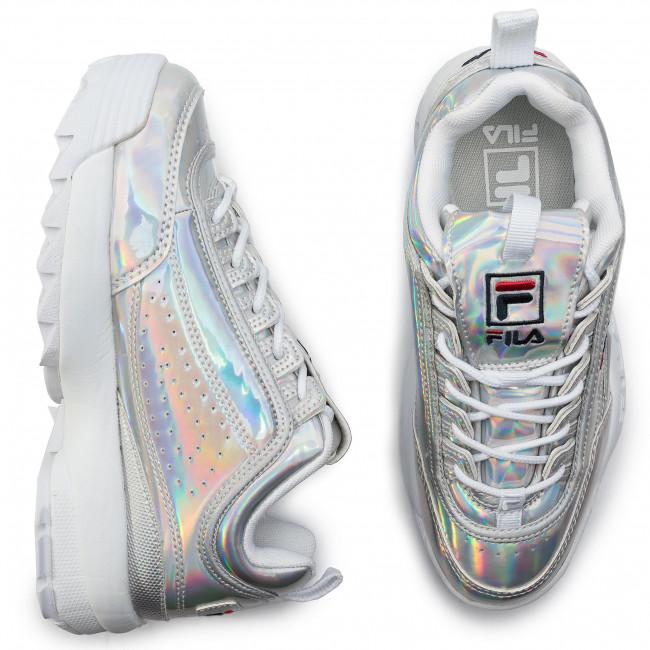 Disruptor Low Sneakers Basse Fila Wmn Silver M 1010747 3vw Donna Scarpe PiuXwklZTO