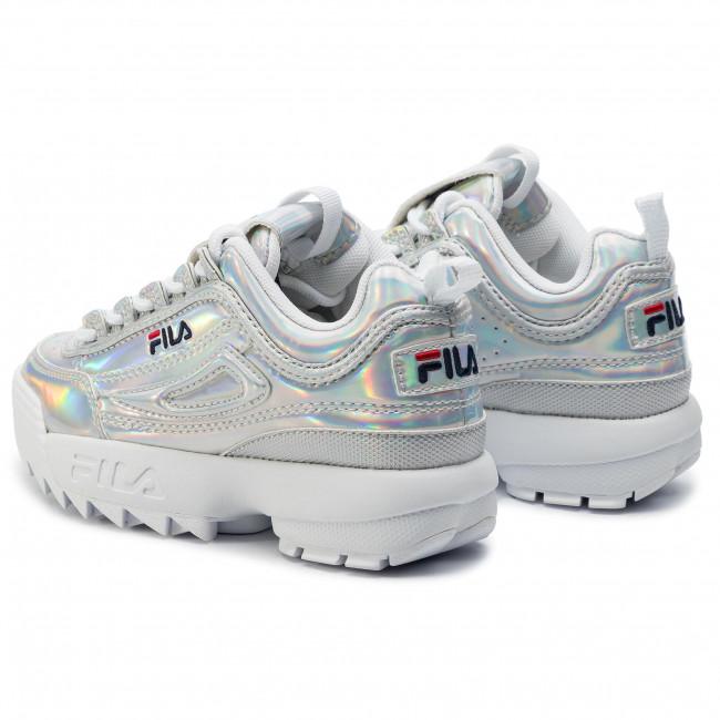 Sneakers FILA Disruptor M Kids 1010779.3VW Silver