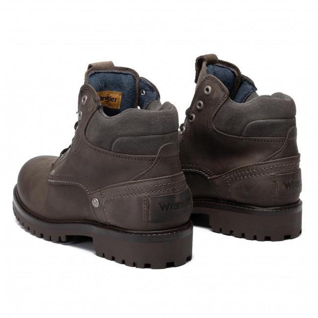 Scarponcini WRANGLER - Yuma WM92000A Dk Grey 56 - Scarpe da trekking e scarponcini - Stivali e altri - Uomo