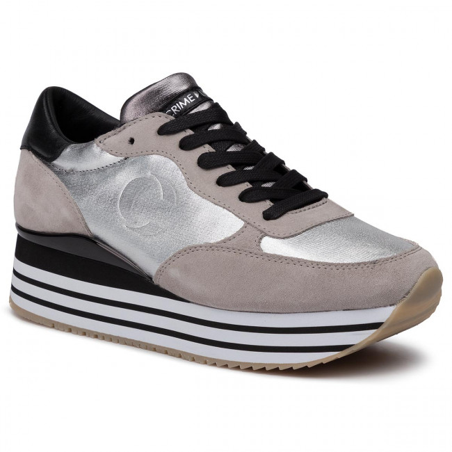 Sneakers Donna Basse London 30 Grey Dynamic 25627aa2 Scarpe Crime rshQxtBodC