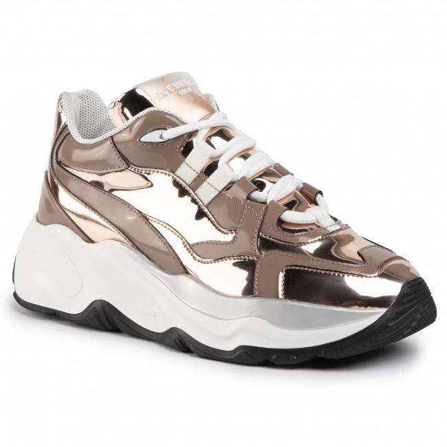Sneakers ICEBERG - Roundu 19IID1605P Oro Rosa