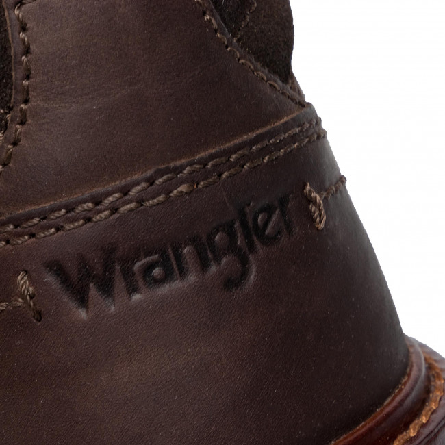 Polacchi 030 Wrangler Discovery Ankle E Uomo Wm92101a Altri DkBrown Stivali AL5Rj4