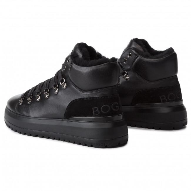 Antwerp 193 7583 Bogner 01 18 Black Sneakers Basse Gomm Scarpe Uomo 534AjRL