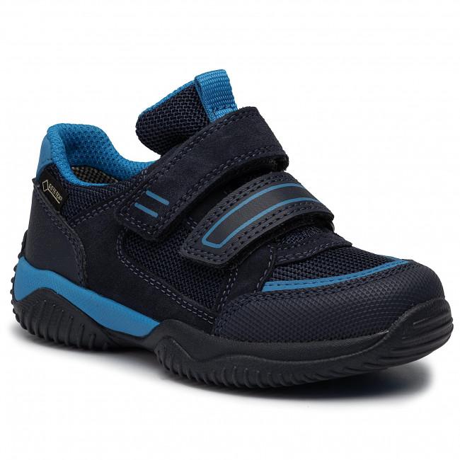 09381 Basse 80 Sneakers Superfit 5 M Blau Strappi tex A Scarpe Gore Bambino wZTOPkiuXl