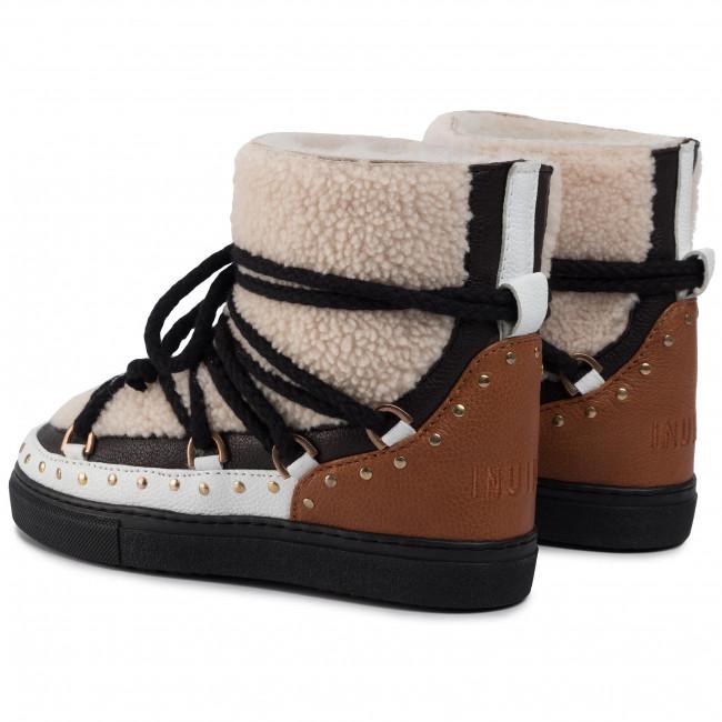 Scarpe INUIKII Sneaker Curly 70102 76 Rock Cream