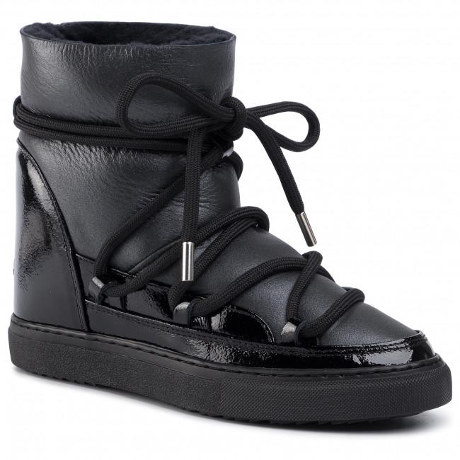 Scarpe INUIKII Sneaker Gloss 70203 6 W Black Wedge
