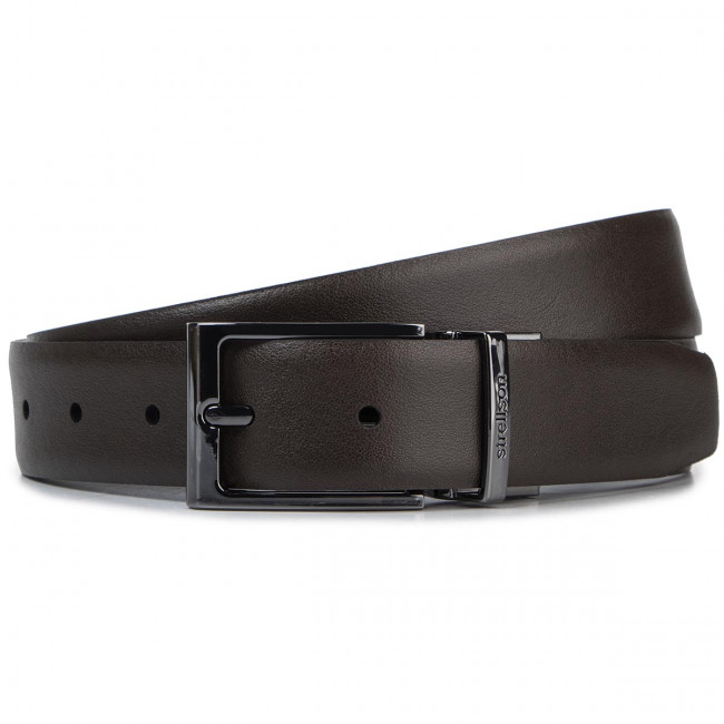 Cintura da uomo STRELLSON - 3063 D'Brown/D'Brown 205 - Cinture per uomo - Cinture - Pelletteria - Accessori