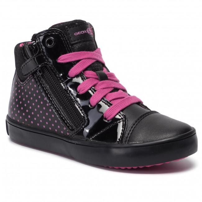 Sneakers GEOX - J Gisli G. C J944NC 0AJ54 C0922 M Black/Fuchsia