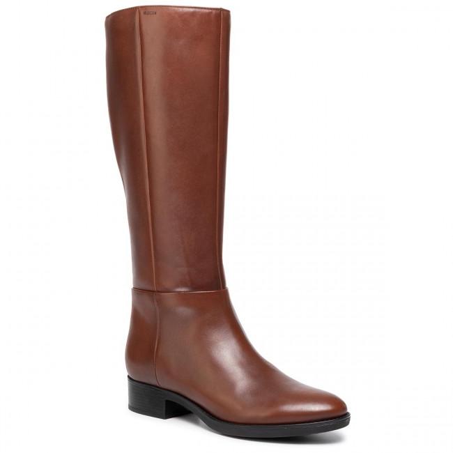 Stivali al ginocchio GEOX - D Felicity D D84G1D 00043 C0013 Brown