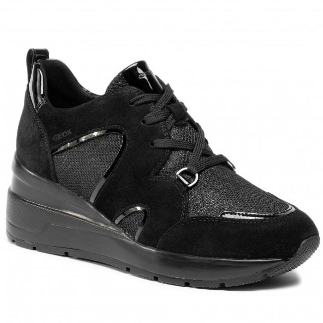 Donna Sneakers GEOX D Zosma A D948LA 022DV C9999 Black