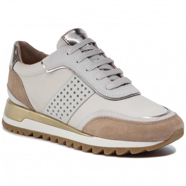 Scarpe Geox 08522 Basse C1002 Tabelya Off White Sneakers Donna D D94aqa A WEHYD29I
