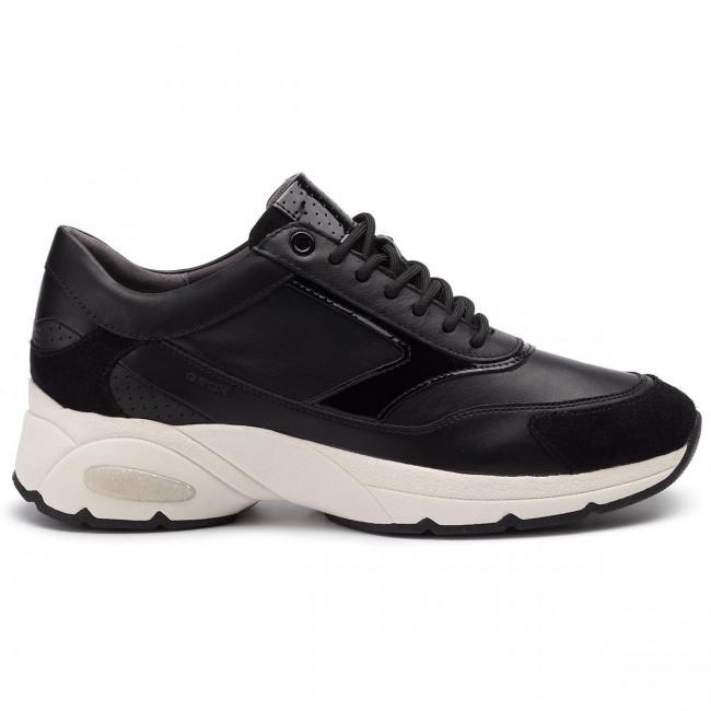 Scarpe sport GEOX per Donna D94FFE 08554 D LEELU C9999 BLACK