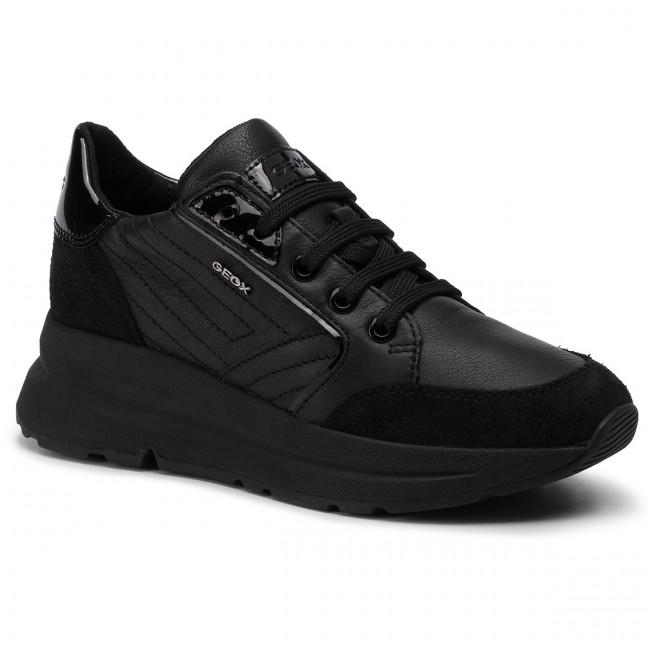 Sneakers GEOX D Backsie A D94FLA 08522 C9999 Black