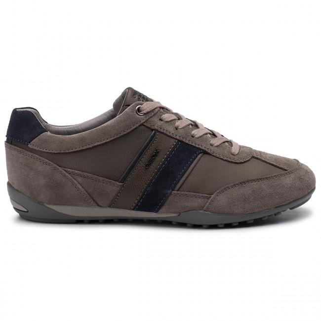 Sneakers GEOX U Box D U84R3D 0CLV2 C9270 BlackAnthracite