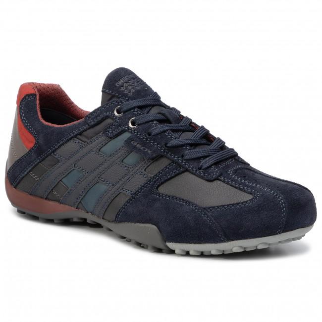 Sneakers GEOX U Snake E U8207E 022ME CF46L NNavyCigar