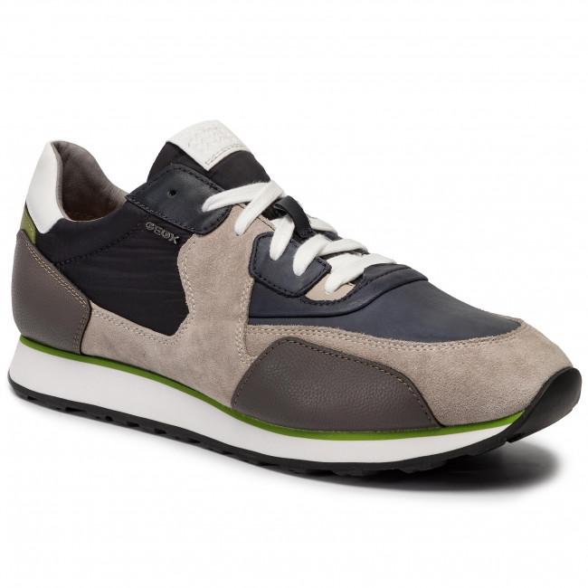 Sneakers GEOX U Vinto C U722LC 01422 C9A1S AnthracitePapyrus
