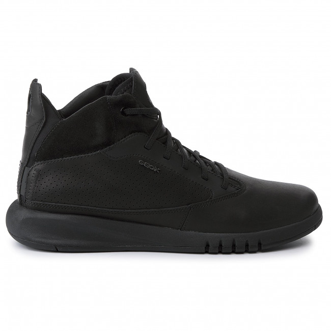 C9999 Black Geox Scarpe Aerantis Sneakers U Basse U947fa A Uomo 00043 c1lFK3TJ