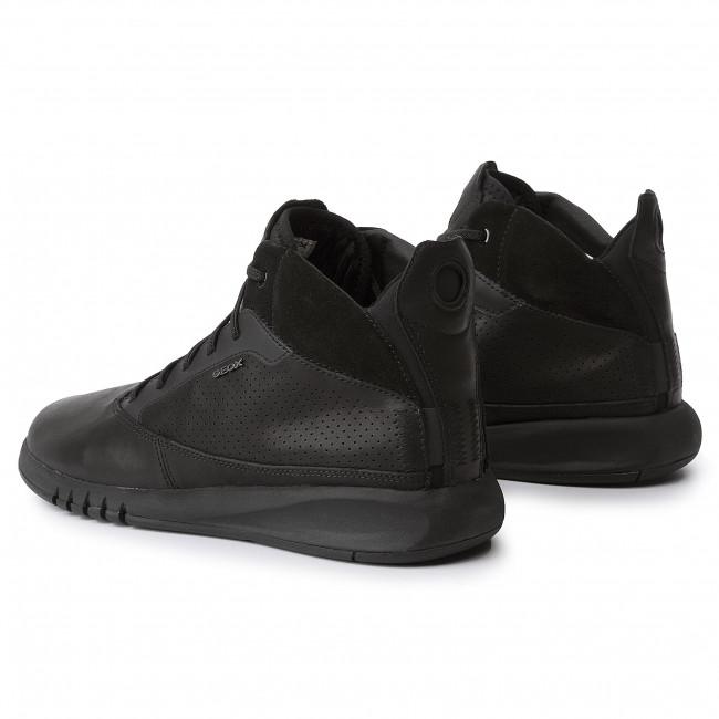 Sneakers GEOX U Aerantis A U947FA 00043 C9999 Black