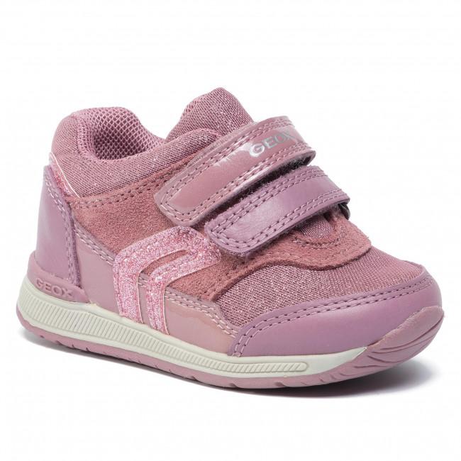 Sneakers GEOX B Rishon G. A B840LA 085AS C8007 Dk Rose
