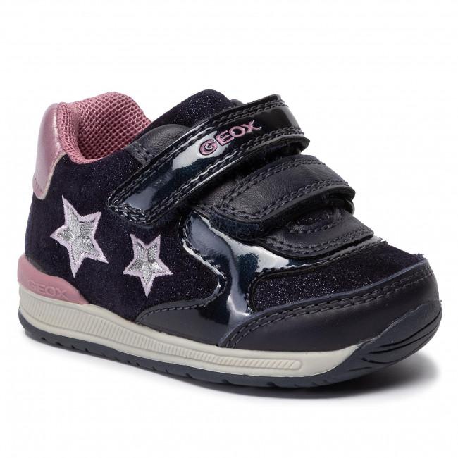Sneakers GEOX B Rishon G. A B940LA 077HI C4PK8 Dk NavyRose