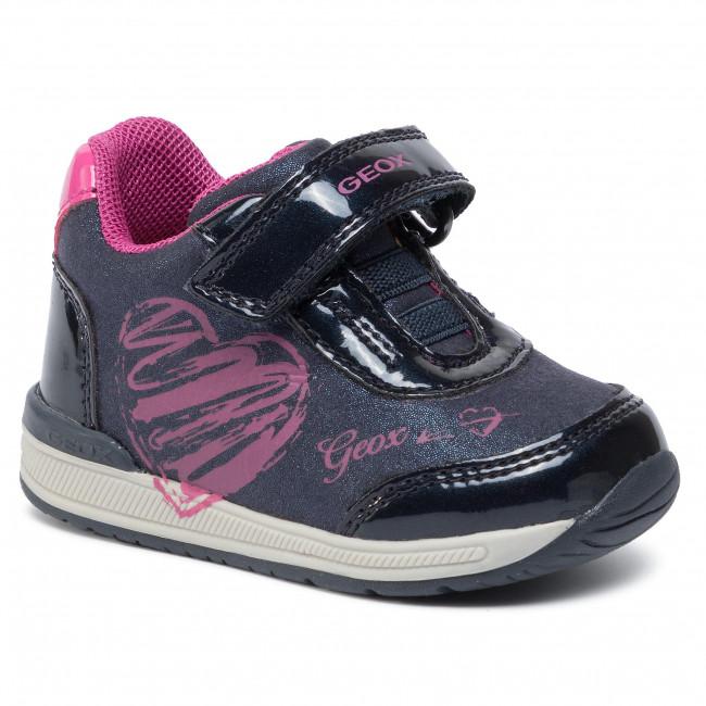 Sneakers GEOX B Rishon G. B B940LB 0BLHI C4268 NavyFuchsia