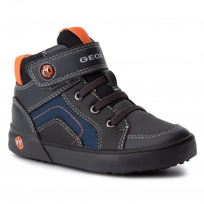 Sneakers GEOX B Kilwi B. A B94A7A 022ME C0062 M Dk GreyBlack