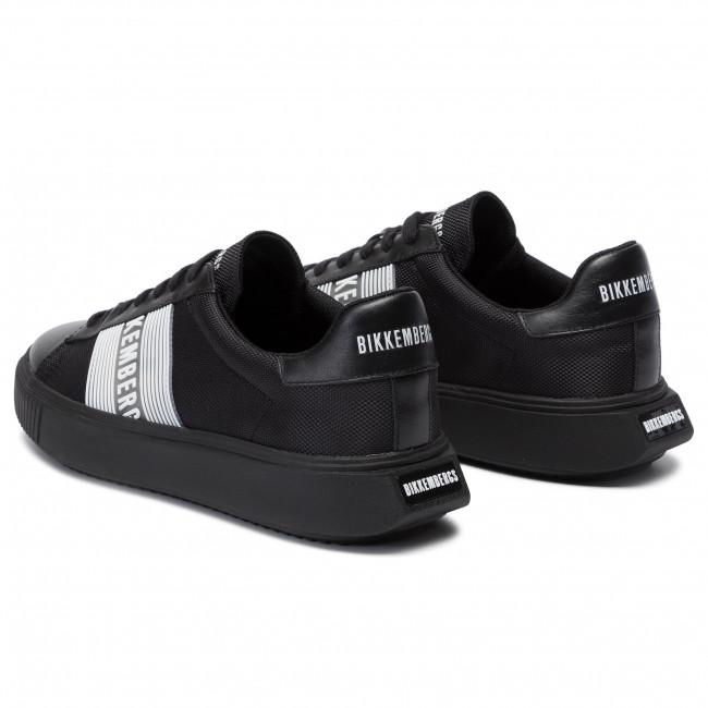 Sneakers BIKKEMBERGS Low Top Lace Up B4BKM0027 Black