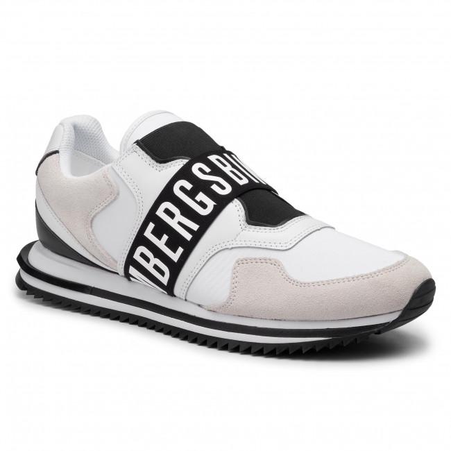 White Uomo Basse black B4bkm0053 Sneakers Scarpe Bikkembergs Haled BdohrCQtsx