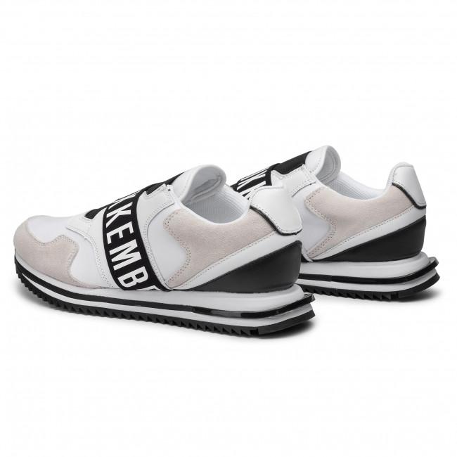 Sneakers BIKKEMBERGS - Haled B4BKM0053 White/Black - Sneakers - Scarpe basse - Uomo rOlSV