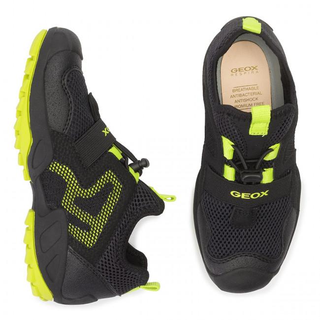 D Stringate Scarpe savage Black J921va 01450 a Geox Basse Bambino J B lime N Sneakers C0802 NOnk0Xw8P