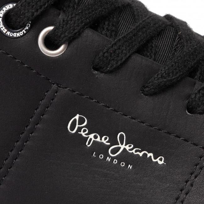 Sneakers PEPE JEANS - Marton Basic PMS30501 Black 999 - Sneakers - Scarpe basse - Uomo am8Iw