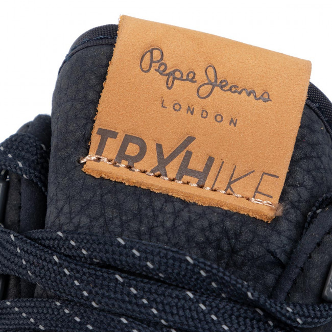 Sneakers Pepe Jeans - Hike Leather Pms30562 Navy 595 Scarpe Basse Uomoescarpe.it xsimS