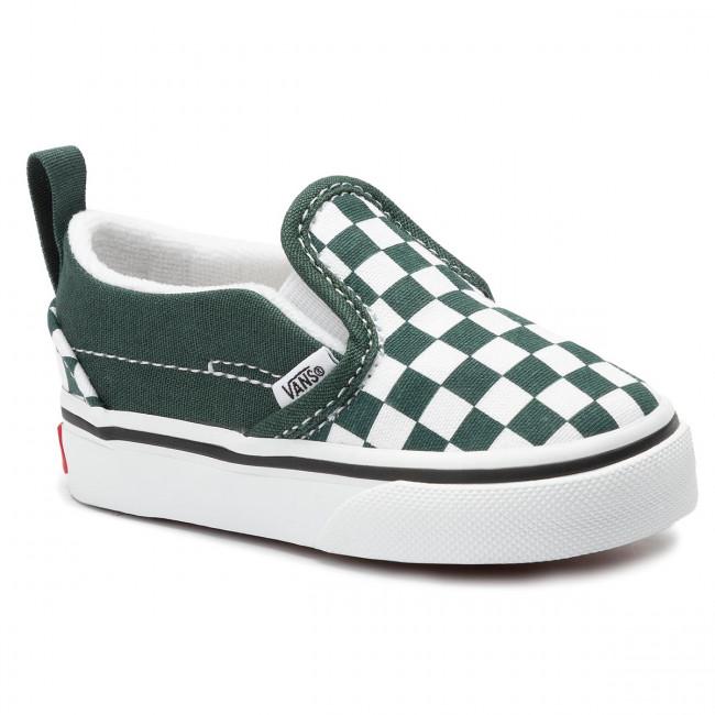 Scarpe sportive VANS Slip On V VN0A3488V4D1 (Checkerboard) Trkngrtrwht