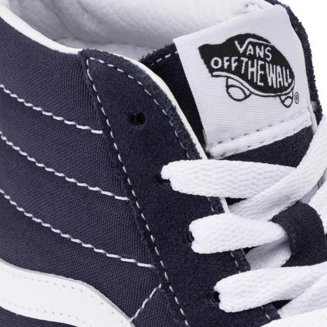 hi Basse Vans Scarpe Sky Sneakers Night White Vn0a4bv6v7e1