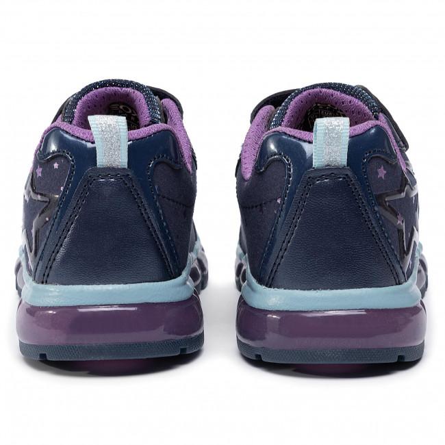 G Basse Bambina J9445b purple J S Android Sneakers Strappi 0dhaj Geox Navy C4269 Con Scarpe Bambino b 2H9WEIYD