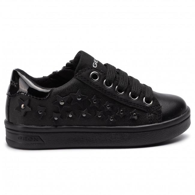 M Bambina Black Sneakers J944mf Basse 0hs54 Scarpe C9999 Stringate Djrock GF Bambino Geox J BedorWCx