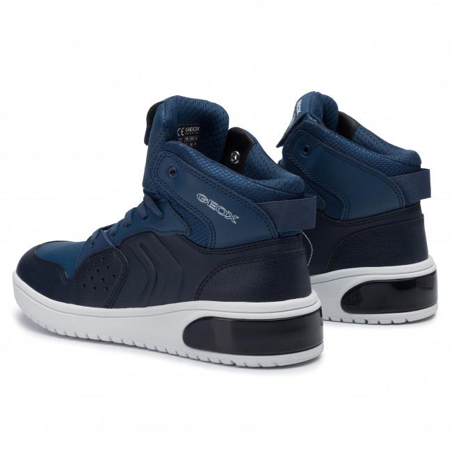 Sneakers GEOX J Xled B. A J947QA 0BCBU C0700 D NavyAvio