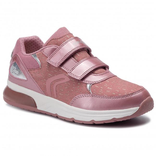Basse Antique J 0dhaj Bambino Geox Bambina G J948vb C8056 Con Dd Scarpe Sneakers Strappi b Rose Spaceclub T3lF1cJuK