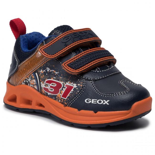 Scarpe sport GEOX per Bambino J844BA 0BU11 J MUNFREY C0820 NAVY
