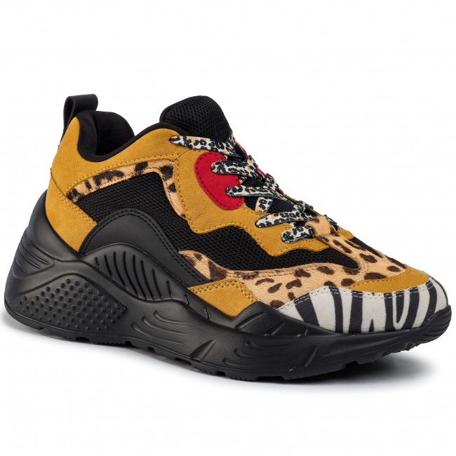 Sneakers STEVE MADDEN Antonia SM11000745 04005 713 Yellow Multi